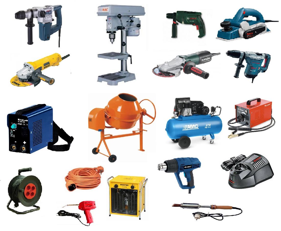 hordozható kisgépeken, vagy kézben tartott elektromos kéziszerszámokon évente érintésvédelmi ellenőrzést kell végezni