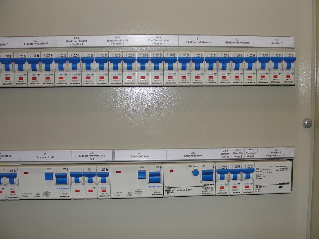 villamos berendezések felülvizsgálata