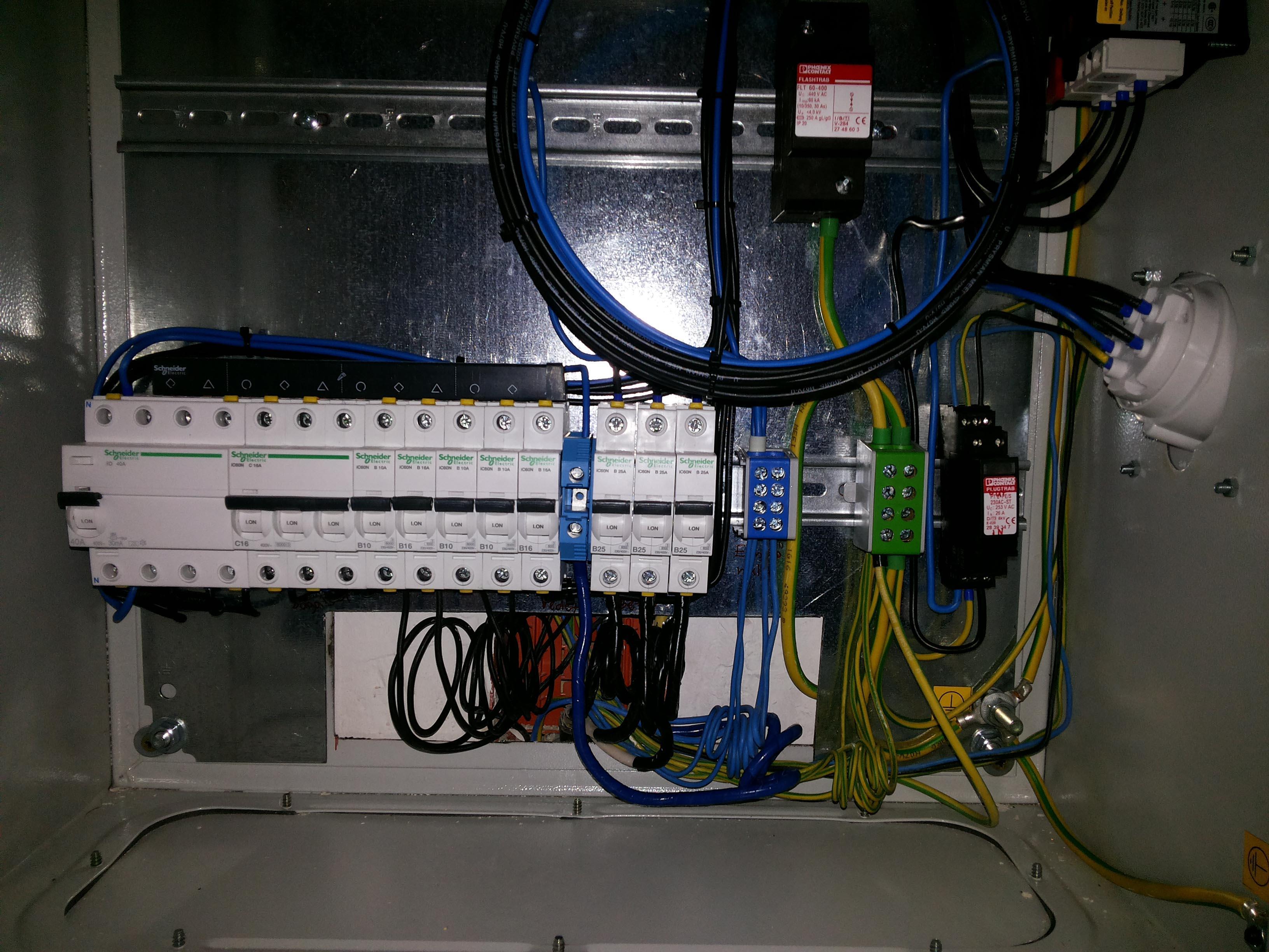 villamos berendezések első vizsgálata